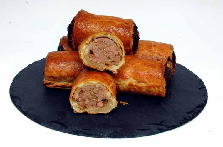 Hepburns Food_handmade sausage rolls